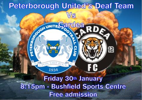 peterborough united vs cardea