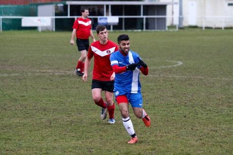 Qadeer Hussain signs 'quick' as he runs