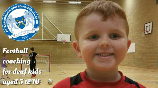 Deaf Football Coaching for Under 10's